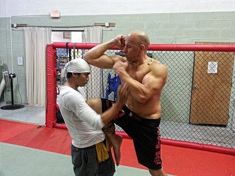 Vin Diesel and Tony Jaa Training 2013