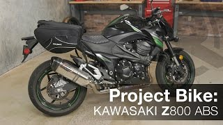 7. Project Bike: 2016 Kawasaki Z800 ABS Motorcycle Video Review | Riders Domain