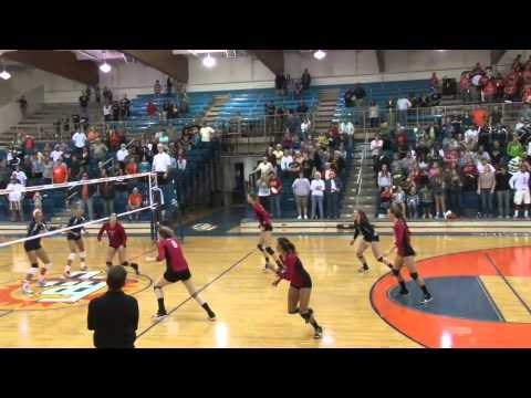 Art U vs. Fresno Pacific Volleyball Highlights from Oct 13 2012