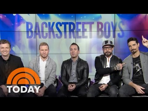 'Backstreet Boys' Movie: They're Back! | TODAY