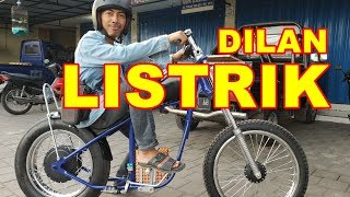 Video Ujicoba Pertama Sepeda Motor Chopper Electric VLOG171 MP3, 3GP, MP4, WEBM, AVI, FLV November 2018