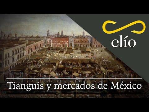 Tianguis y mercados de México
