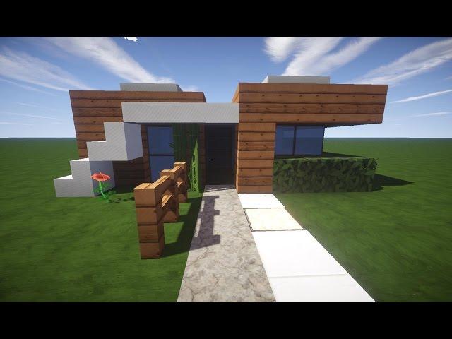 Minecraft modernes ha for Minecraft modernes haus zum nachbauen