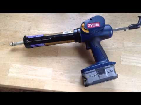 Home Depot - 18-Volt ONE+ Power Caulk and Adhesive Gun ...