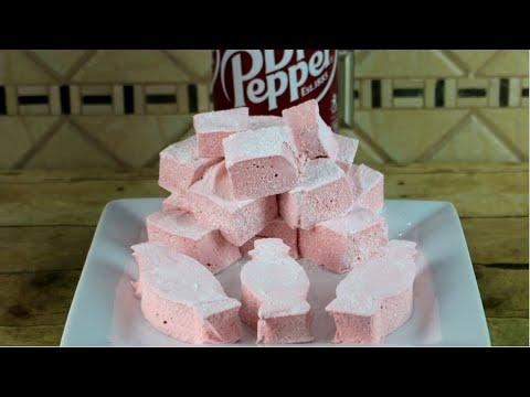 Dr  Pepper Marshmallows | Homemade Marshmallow Recipe