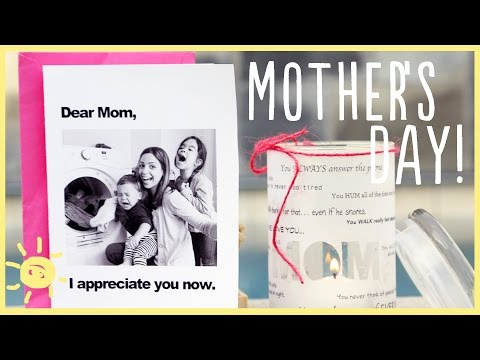 TIPS | 3 Handmade Gifts for OUR Moms!
