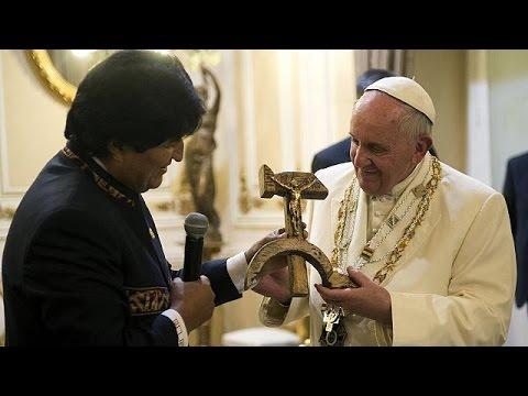 Βολιβία: Μήνυμα του Πάπα υπέρ των φτωχών- Ασυνήθιστό ρόλο από τον πρόεδρο Μοράλες