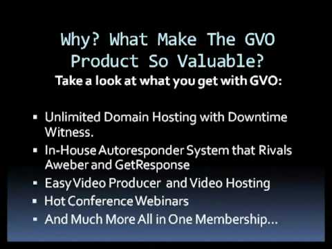 What Makes The GVO Products So Valuable?