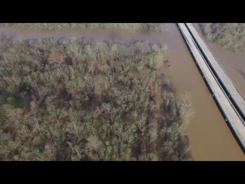 Wow!  Watch this video of flooding of the Amite in Denham Springs.