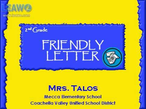 How to Write a Friendly Letter