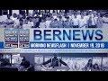 Bernews Newsflash For Monday November 19, 2018