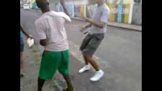 Portsmouth Dominica  city photo : Dominica Street Fight in Portsmouth - 2p4c vs Matthew Part 2