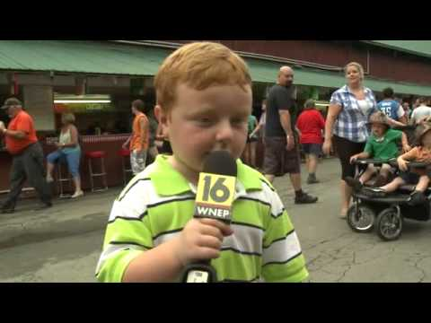 Apparently This Kid is Awesome Steals the Show During