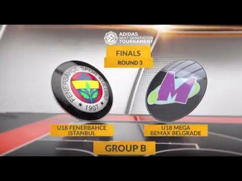 EB ANGT Finals Highlights: U18 Fenerbahce Istanbul-U18 Mega Bemax Belgrade