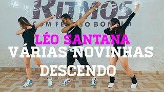 Varias Novinhas Descendo - Léo Santana - Show Ritmos - Coreografia