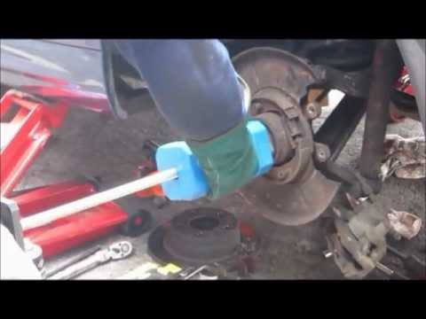 Part 1 - Bmw 318I E46 Rear wheel bearing replacement