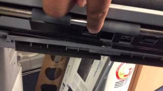 Steps to take when experiencing the error code e045 on the Canon irc2380. The E045 error code relates to the OHP sensor which is clearly shown in the video. Check that the sensor is securely fitted and clean. This could save you money.