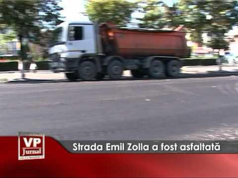 Strada Emil Zolla a fost asfaltata