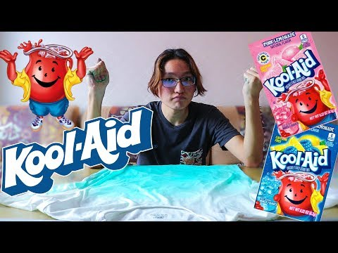 DYEING SHIRT WITH KOOL-AID