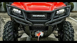 10. Custom Honda Pioneer 1000-5 Deluxe with Cab Enclosure, Heater, 29