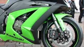 9. Kawasaki Ninja ZX-10R 200 Hp 295 Km/h 2012 * see also Playlist