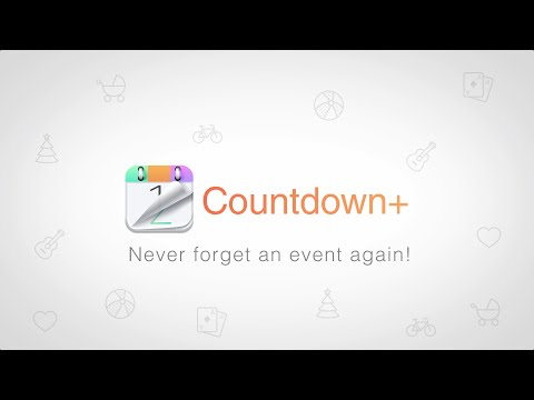 Video of Countdown Plus Widgets Lite