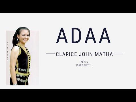 Clarice John Matha - Adaa (Lyric & Chord Cover)