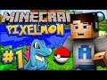 "Minecraft PIXELMON - Episode #1 w/ Ali-A! - ""I CHOOSE YOU!"""
