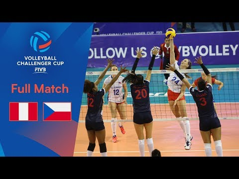 PERU Vs CZECH REPUBLIC | Full Match | 2019 FIVB Women's Volleyball Challenger Cup
