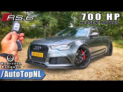 700HP AUDI RS6 Klasen REVIEW POV on AUTOBAHN (No Speed Limit) by AutoTopNL