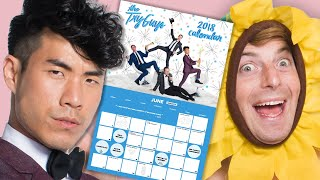 Video The Try Guys Make The Ultimate Holiday Calendar MP3, 3GP, MP4, WEBM, AVI, FLV Maret 2019
