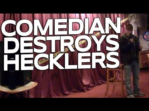 Comedian Destroys 2 Hecklers At Open Mic Night