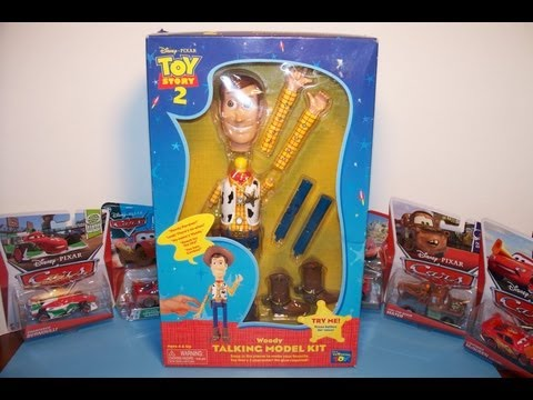 Disney Pixar Toy Story 2 Woody Talking Model Kit By Thinkway Toys Video Review