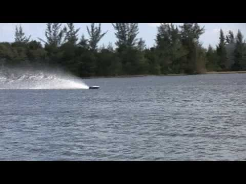 crushkrew - purple flake ac razor quickdraw rc boat.