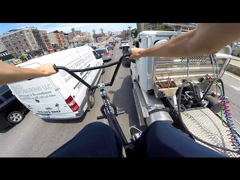 GoPro BMX Bike Riding in NYC 5 (видео)