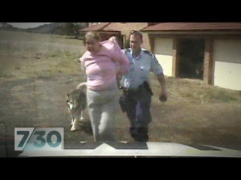 Australian policeman draws gun on pensioner and pepper-sprays her dog | 7.30