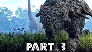 Jurassic World Evolution Gameplay Walkthrough Part 3 - FIRST DINOSAUR DEATH (Full Game)