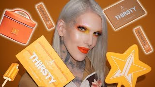 THIRSTY 💦 PALETTE & SUMMER 2018 COLLECTION REVEAL | Jeffree Star Cosmetics