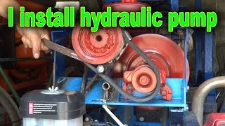 I install the pump hydraulics in my garden tractor.  Homemade lathe for wood: https://www.youtube.com/watch?v=Ck_EL33PMg0Planting potatoes using a garden tractor: https://www.youtube.com/watch?v=OnQXoD3h58oHilling potatoes using a garden tractor: https://www.youtube.com/watch?v=gIqg-h6QAgoHomemade garden tractor digging potatoes: https://www.youtube.com/watch?v=wDgu18zQaQwMy homemade garden tractor: https://www.youtube.com/watch?v=Mt5xFKd0vAcThe process of assembling my garden tractor: https://www.youtube.com/watch?v=3JkUFFnmglkLiberal DIY: https://www.youtube.com/channel/UCfy35XU-M9w-jXmNUsO--fA