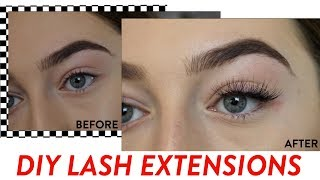 DIY Lash Extensions for under $12!Kit used: Ardell individual eyelash kit-----------------------If any businesses would like to work with or collaborate with me contact me at Askmisscharlottebeauty1@gmail.com and if possible please put 'Business' or 'Collab' in the Subject Title line so I can get to you email quickly and respond ASAP! Thankyou! xx------------------------my links Instagram: Misscharlottebeauty1Snapchat: Misscharbeauty1Twitter: MissCharBeauty1-----------------------about me name: charlotteeditting software: Final Cut Pro Xcamera: Canon EOS 80dlighting: soft boxes or natural where I live: australia-------------------I love you all so much! charlotte xoxo -------------------disclaimer: this video was not sponsored! All opinions are my own and no one has influenced or paid me to say them xx