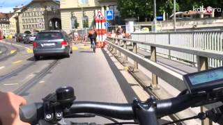 Time-lapse cycling from  Muri to Bern City