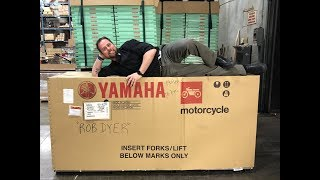 1. 2019 MT09 Reveal First Yamaha shipment for the new MT-09