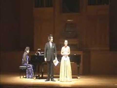 """Julia Lezhneva and Koji Terada. G. Donizetti Apressati Lucia (""""Lucia di Lammermoor"""")"""