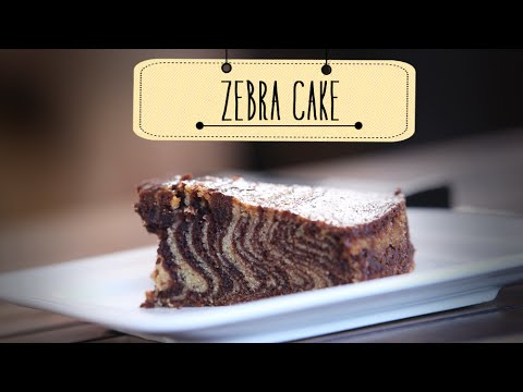 Zebra Cake | Eggless Dessert Cake Recipe | Beat Batter Bake With Priyanka