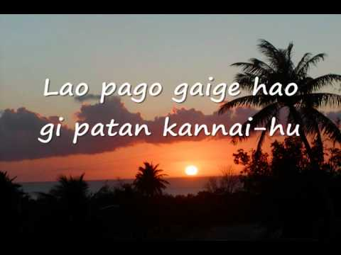 Bonito Na Ha'ane: KC DeLeon Guerrero Lyrics
