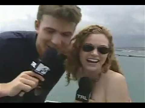 Ben Affleck Gropes Hilarie Burton On TRL