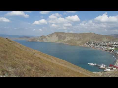 Путешествия по Крыму .Орджоникидзе.Природа  GOPRO002 (видео)