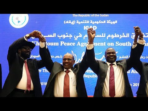 Nότιο Σουδάν: Ειρηνευτική συμφωνία υπέγραψαν κυβέρνηση και αντάρτες…