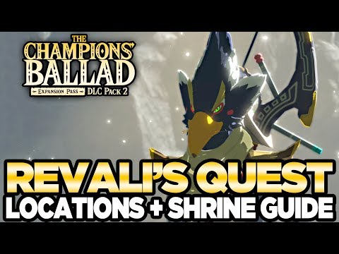 Revali's Song - Locations & Shrine Guide The Champions Ballad Breath of the Wild   Austin John Plays