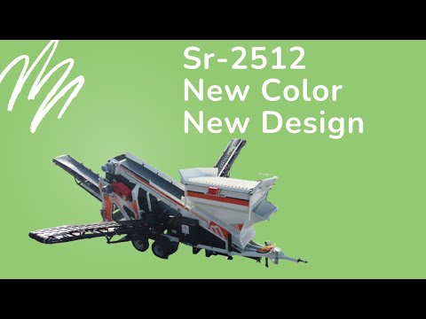EVORTLE SR-2512 MOBILE SCREENER & SORTING PLANT